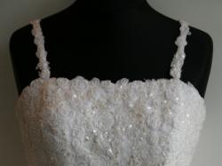 Nowa suknia ślubna rozm 40 może być ciążowa