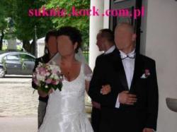 NOWA Suknia ślubna z TWOJEGO  WZORU