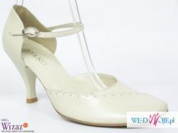 c9638bad nowe buty ślubne Ryłko smietankowe 40 nowe buty ślubne Ryłko smietankowe 40