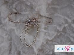Nowe eleganckie bolerko ślubne