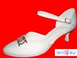 nowe obuwie ślubne