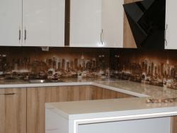 Nowoczesna ściana w kuchni
