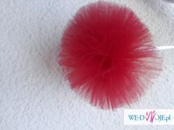Nowość. 10 zl pompony kule z tiulu dekoracje