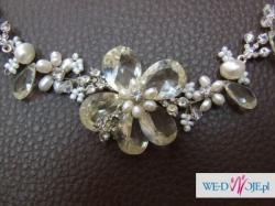 Nowy komplet biżuterii do sukni ślubnej