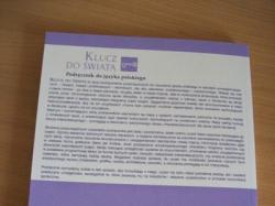 NOWY Podręcznik JĘZYK POLSKI - KLUCZ DO ŚWIATA kl. I cz. I