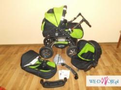 Nowy wózek baby merc 3w1