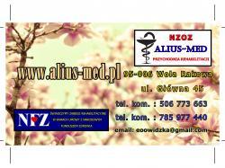 NZOZ ALIUS-MED Przychodnia Rehabilitacji
