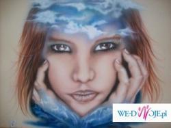 Obrazy Wielkoformatowe w technice Airbrush