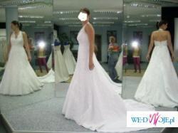 Oferuję przepiękną wyjątkową suknie ślubną, hiszpańskiej firmy La Sposa.