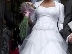 OKAZJA- biała suknia ślubna rozm. 38-40