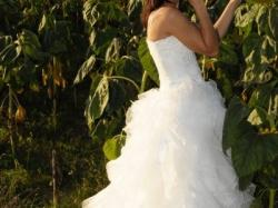 Okazja efektosuknia ślubna włoskiego projektanta Maggio Ramatti
