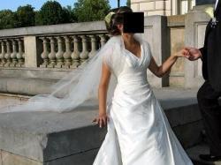 Okazja!!!Elegancka suknia z Hiszpani-LASPOSA