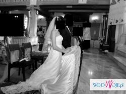 Okazja koronkowa suknia Carmen