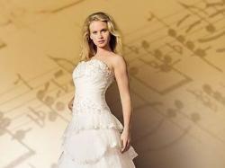 !!OKAZJA!! Piękna Suknia z salonu Duet Tanio!! r.38