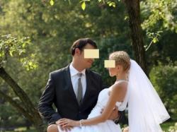 OKAZJA -przepiękna MUŚLINOWA suknia ślubna Belcanto 34 36 UNIKAT