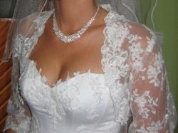 OKAZJA!!!! Prześliczna suknia ślubna