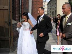Okazja!Śliczna, bajkowa suknia ślubna Aspera Bride