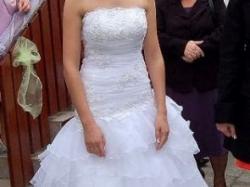 Okazja śliczna suknia ślubna