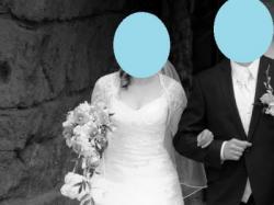 Okazja, śliczna suknia ślubna z kolekcji 2011 + gratisy