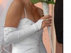 Okazja!Sprzedam piękną suknię ślubną