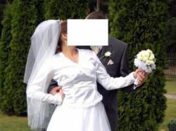 Okazja! Suknia Ślubna z salonu Adria + dodatki!