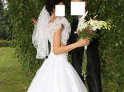 OKAZJA!!! wyjątkowa i niepowtarzalna suknia ślubna + GRATISY!!!