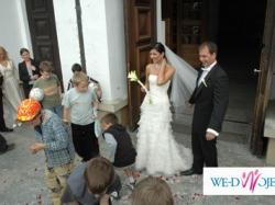 OKAZJA z 4.000!suknia ślubna Cymbeline Accacia r.38