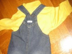 OLD NAVY/GAP OGRODNICZKI 3-6M +GAP body 3-6M