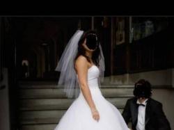 Olśniewająca suknia firmy Sincerity 3159 POLECAM!!!