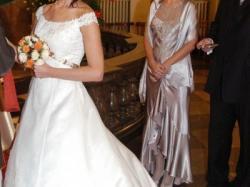 olśniewająca  suknia Herm's Delori - rozm.38