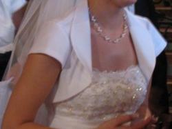 Olśniewajaca suknia ślubna
