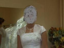 Olśniewająca suknia ślubna