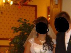 olśniewająca suknia ślubna rozmiar 38-40