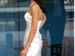 orginalna hiszpańska suknia ślubna WHITE ONE 411
