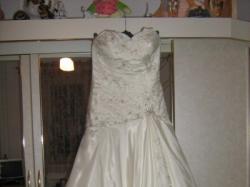 Orginalna jednoczęściowa suknia slubna z kolekcji Justin Alexander***