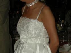 Orginalna suknia ślubna typu BOMBKA ostatni krzyk mody! Krótka