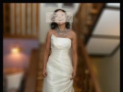 Orygilna i szczęśliwa suknia ślubna z salonu Cymbeline