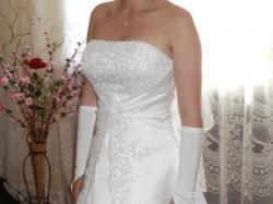Oryginalna biała suknia z kolekcji AGNES rozm. 36/38