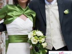 Oryginalna elegancka suknia ślubna
