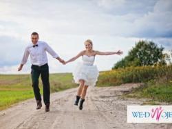 Oryginalna i piękna suknia ślubna