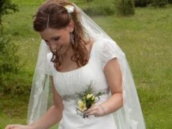 Oryginalna, subtelna i romantyczna suknia ślubna