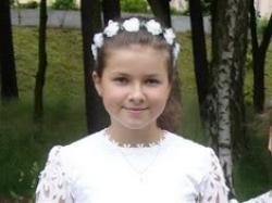 ORYGINALNA sukienka komunijna z narzutką i bolerkiem.