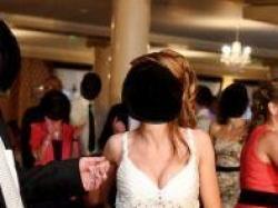 oryginalna sukienka ślubna + dodatki z salonu Cymbeline