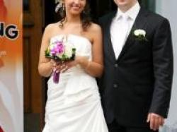 Oryginalna suknia ślubna,
