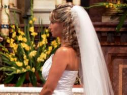 ORYGINALNA suknia ślubna biało-srebrna