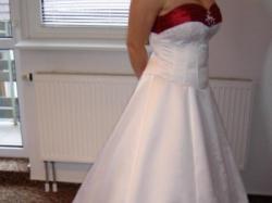 oryginalna suknia ślubna + dodatkowa spódnica