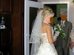 Oryginalna suknia ślubna FARAGE Galaxy 4000