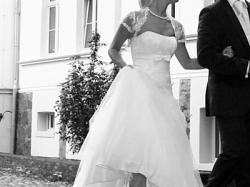 ORYGINALNA suknia ślubna IVORY 34 36