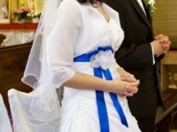 Oryginalna suknia Ślubna! MS Moda Rachel+dodatki!
