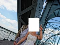 Oryginalna suknia ślubna - TORUŃ